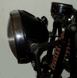 headlamp mount